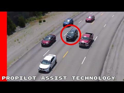 2018 Nissan Rogue ProPILOT Assist Technology