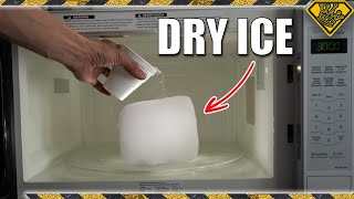What Does Dry Ice Do In A Microwave?