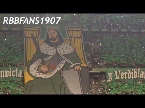 LO MEJOR. Himno del Betis a Capella cantado por 50.000 almas en el DERBY Sevillano