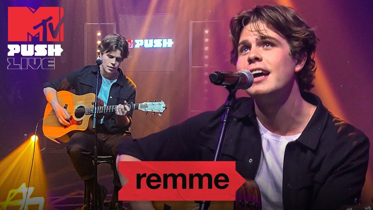 remme – 'something real' & '2 become 1' |MTV Push Live Night, Melkweg Amsterdam