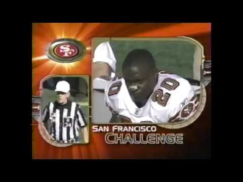 San Francisco 49ers vs Oakland Raiders 2002 (T.O. vs Charles Woodson) (pt. 1)