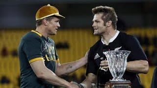 Springbok Jean de Villiers 100th Test Cap Presentation 2014
