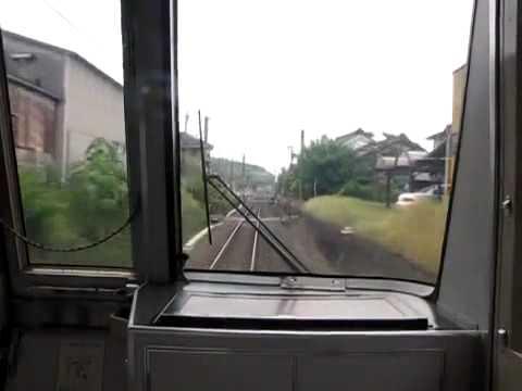 奈良線 JR西日本 前面展望 城陽~奈良JR West Nara Line Jōyō - Nara Führerstandsmitfahrt