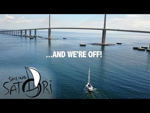 Ep. 14 - AND WE'RE OFF!... Let the Cruising Begin (Sailing Satori)