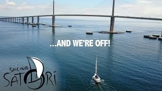 AND WE'RE OFF!... Let the Cruising Begin (Sailing Satori) S1:E14