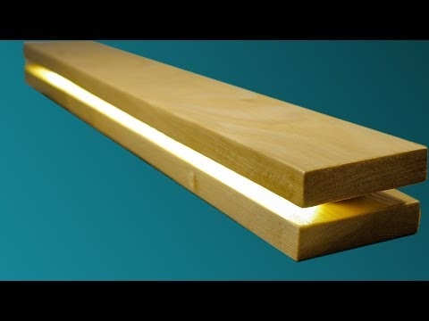 WOODEN LAMP. COOL DIY PROJECT