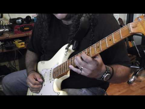 Panos A Arvanitis plays Yngwie J Malmsteen Fender