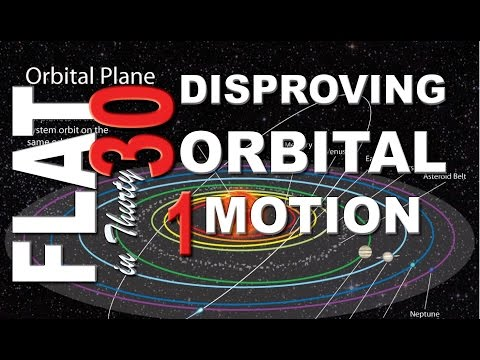 FLAT EARTH: Disproving Orbital Motion ~ theMorgile (Part 1/2) thumbnail