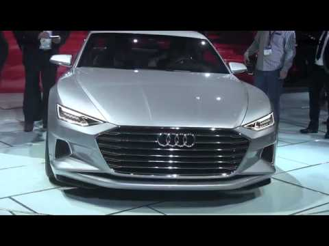Watch the Audi Prologue Concept Debut Why Because it 39 s the future design of the A6 A7 amp