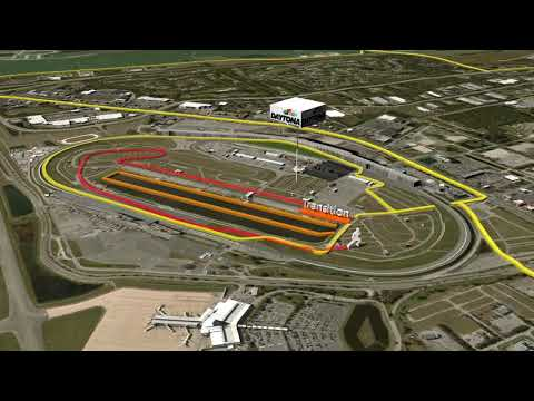 Challenge Family Daytona middle distance race courses
