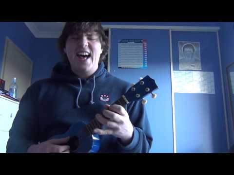 Ukulele finger-picking Thunderstruck