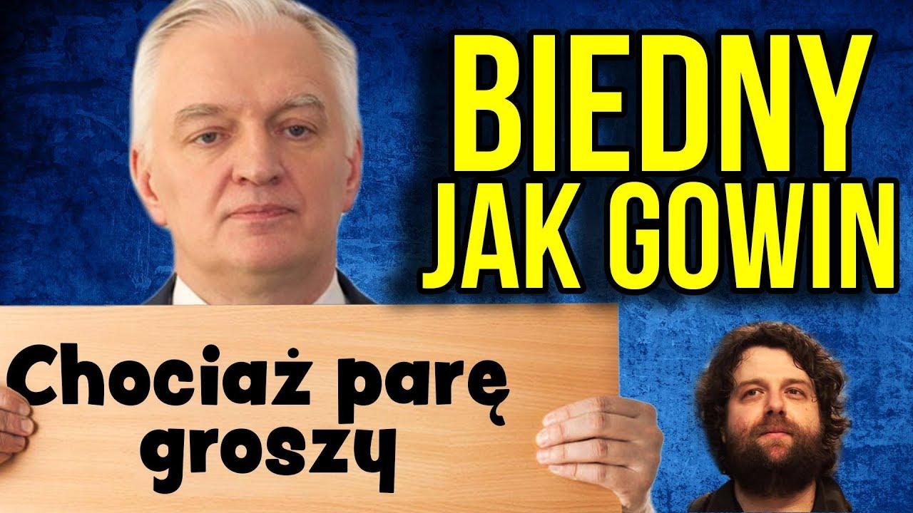 #biednyjakgowin – Minister PIS Gowin NIE MIAŁ DO PIERWSZEGO mając 20.000 / miesiąc. PO robi zbiórkę.