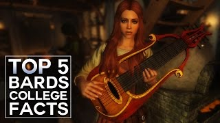 Skyrim - Top 5 Bards College Facts