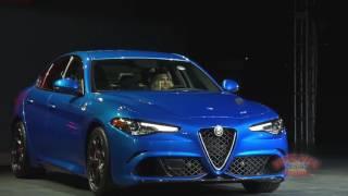 2016 LA Auto Show - Alfa Romeo Press Conference