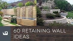 60 Retaining Wall Ideas