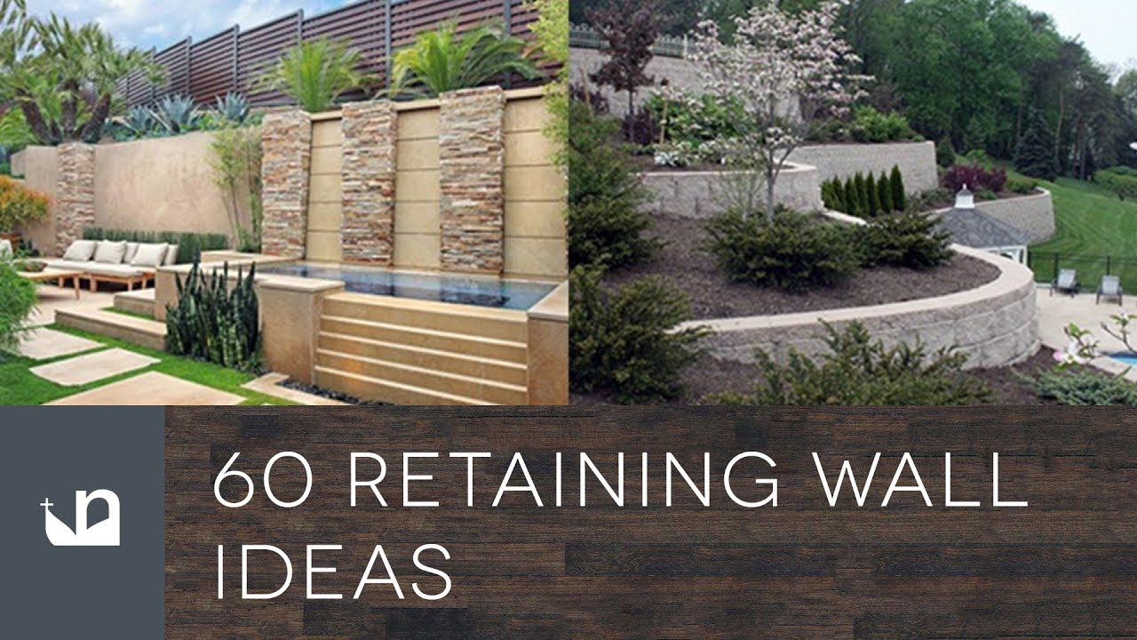 60 Retaining Wall Ideas Youtube