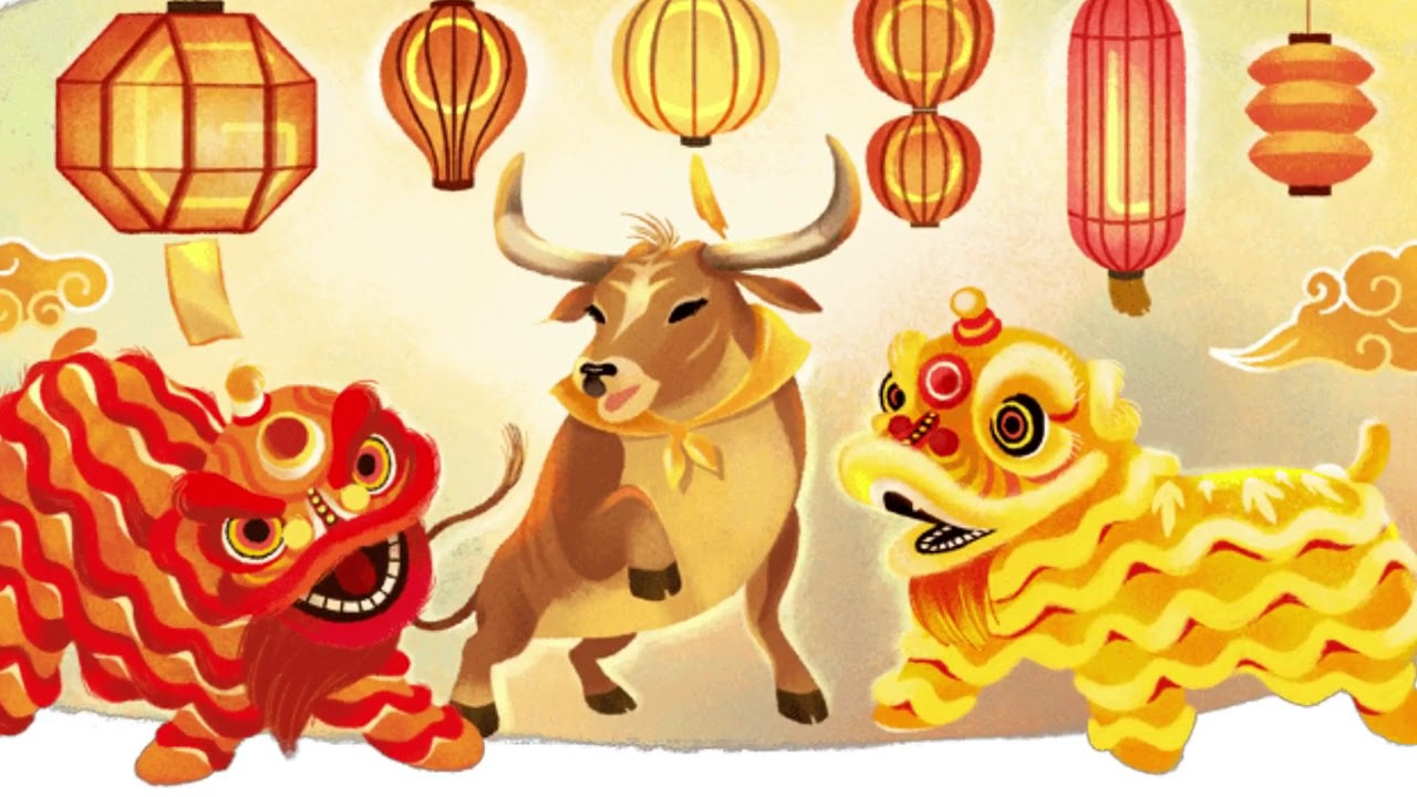 Gallery Lunar New Year 25 Google Doodle   Year of the Ox is free HD wallpaper.