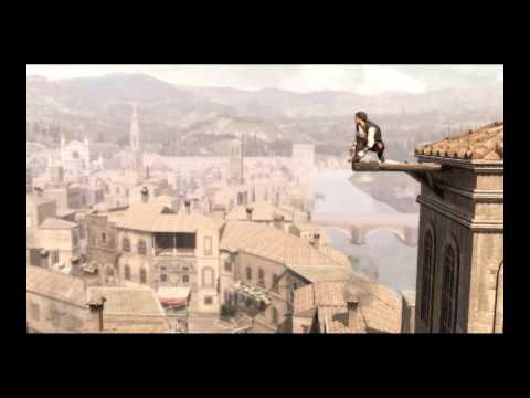 ►Assassin's Creed 3 - настоящий мир, часть 1. Паркур - приколы мужика в костюме ассассина.