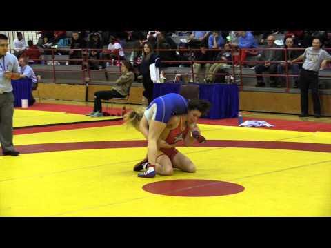2015 Nordhagen Classic: 55 kg Michaela Hutchison vs. Liisa Wainman
