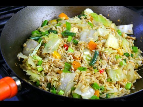 Quick Salmon Fried Rice #TastyTuesdays | CaribbeanPot.com