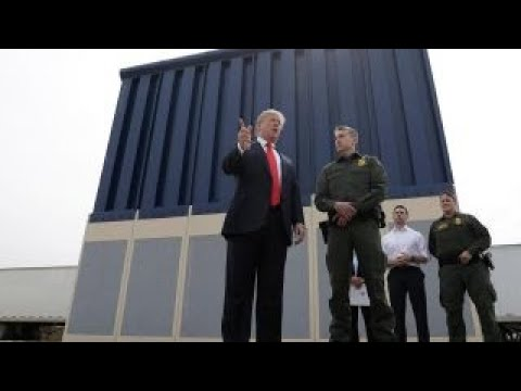 Crowdfunding bill to pay for Trump's border wall