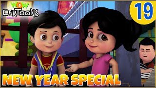 Vir The Robot Boy | Hindi Cartoon For Kids | New Year Special | Compilation #19 | Wow Cartoons