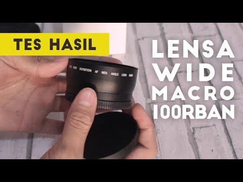 Review Lensa Wide Macro 100rban Untuk Lensa Kamera DSLR Mirrorless - Hasilnya Mencengangkan