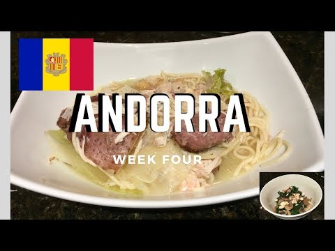 Second Spin, Country 4: Andorra [International Food]