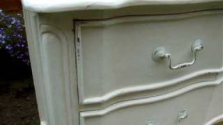Chest Of Drawers White Painted Furniture Distressed