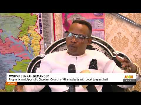 Prophetic and Apostolic Churches Council of Ghana pleads with court to grand bail- Adom TV (15-9-21)