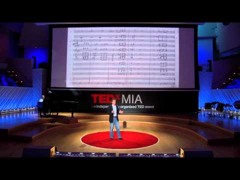 The beautiful math behind the ugliest music: Scott Rickard on TED.com