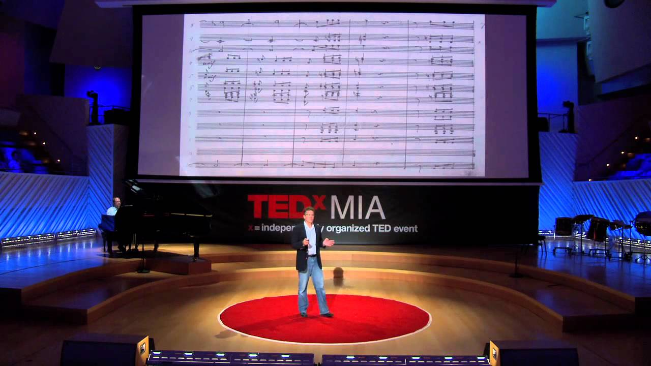 The world's ugliest music | Scott Rickard | TEDxMIA