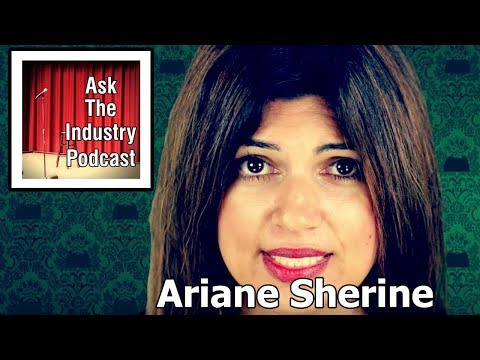 EP63 – Ariane Sherine – How to move from TV writer to stand up comedian