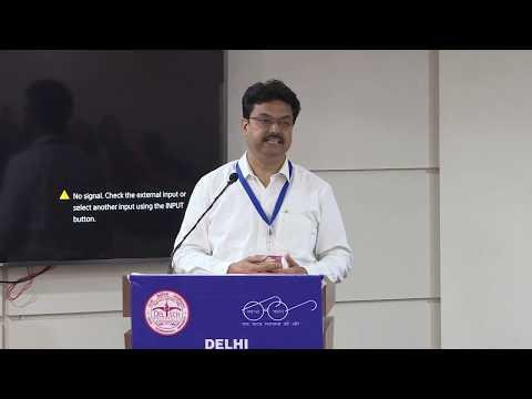 Addressing By Prof. Yogesh Singh Vice Chancellor, DTU