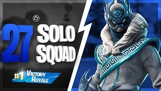 *INSANE* 27 Kill Solo Squad Game - Fortnite Battle Royale