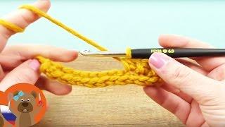 Двойные воздушные петли! Урок вязания крючком для начинающих