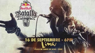 Final Nacional Perú 2017 - Red Bull Batalla de los Gallos