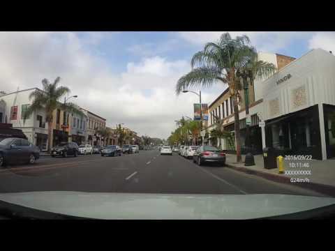 Oldtown Pasadena, California; Captured with the DEFENDR+ Dash Cam