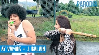 J BALVIN - AY VAMOS (PARODIA) - ELCHICODELAFRO