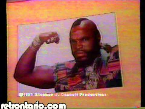 Toys R Us Mr T in Toronto 1984