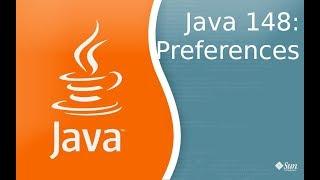 Урок Java 148: Preferences