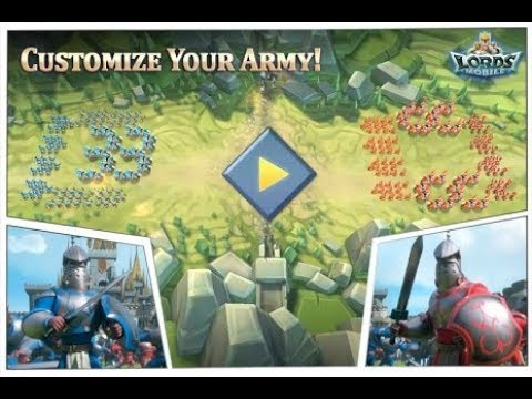 Lords Mobile: Troop Formations Wedge Vs Phalanx!
