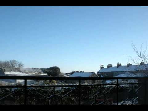 Mullingar Westmeath time lapse video Winter 2010