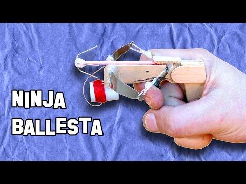✔ Ballesta Ninja Con Arpón | Ninja crossbow harpoon