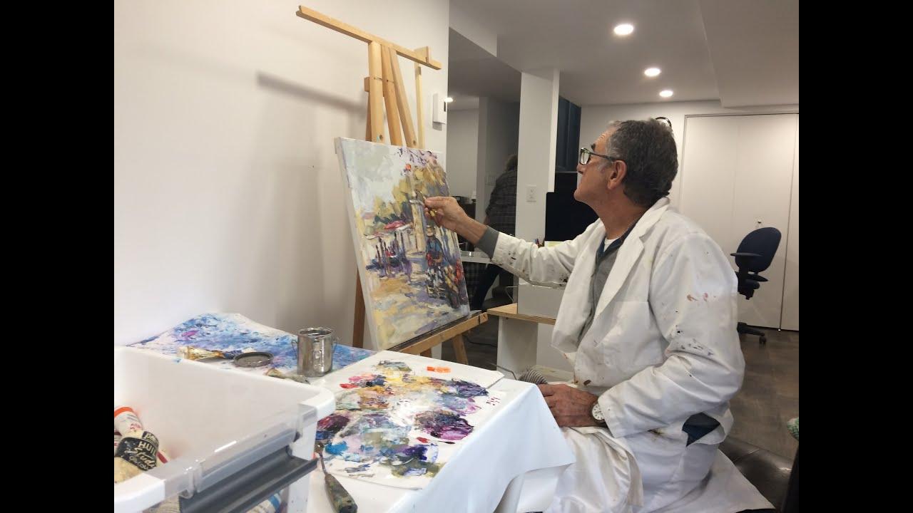 Jean Pastore artiste peintre de Six-Fours-les-Plages, France