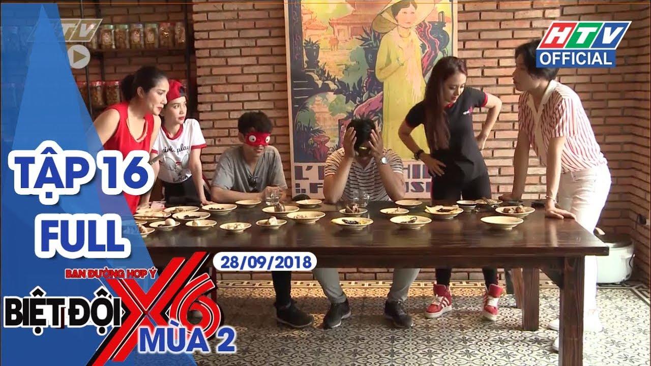 image #HTV BIỆT ĐỘI X6 | Quang Bảo bị ép ăn thằn lằn | #BDX6 #16 FULL | 28/9/2018