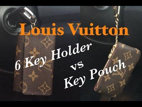 Louis Vuitton 6 Key Holder vs Key Pouch | Comparison