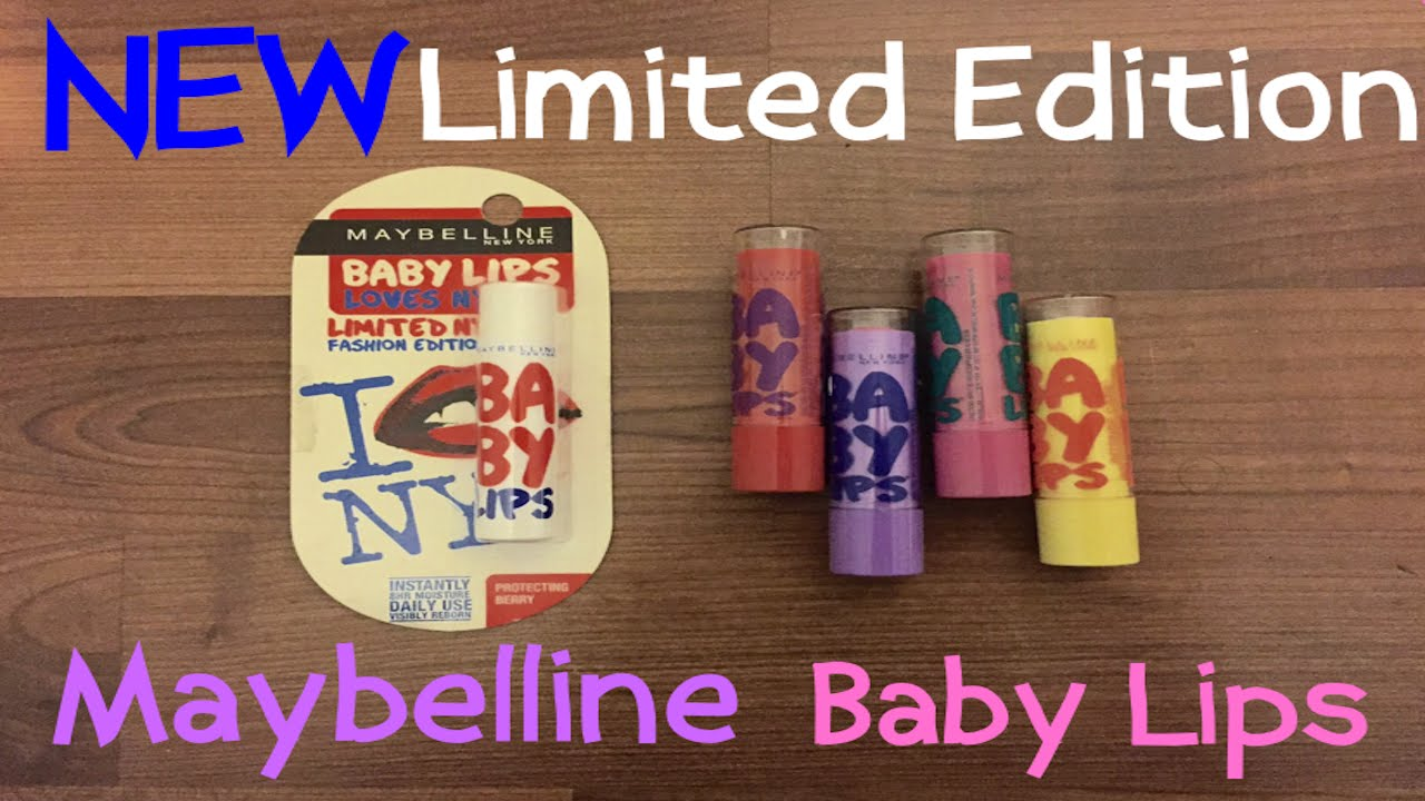 limited edition baby lips 2014   The Art Of Beauty