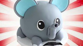 CUTEST Elephant Cake for Dumbo!