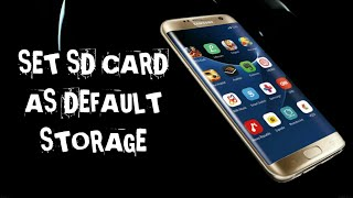 How To Set Default Storage To Sd Card In Samsung J2
